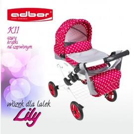 Kočík pre bábiky Adbor Lily K11