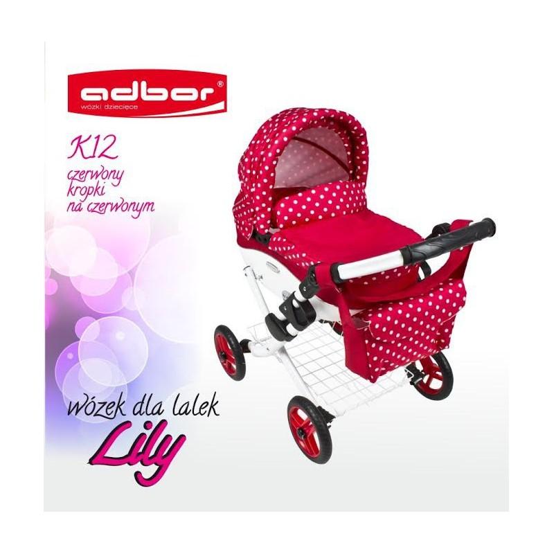 Kočík pre bábiky Adbor Lily K12