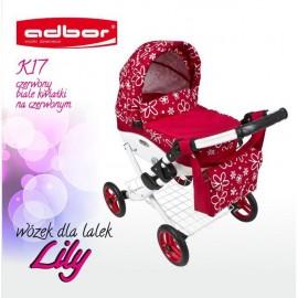 Kočík pre bábiky Adbor Lily K17