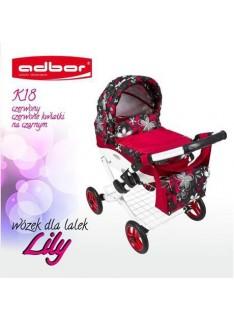 Kočík pre bábiky Adbor Lily K18