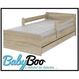 Baby Boo dvojposteľ Max Dub Sonoma 160x80 cm