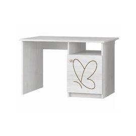 Baby Boo písací stôl Surf biela Gravir motýl