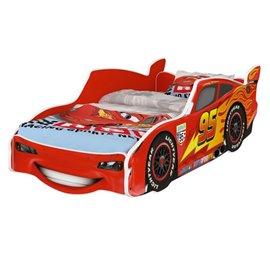 Baby Boo Autoposteľ Cars McQueen červená 140x70 cm s matracom