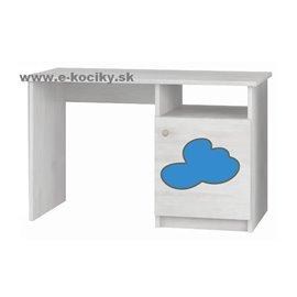 Baby Boo Písací stôl Gravir Mráčik modrý