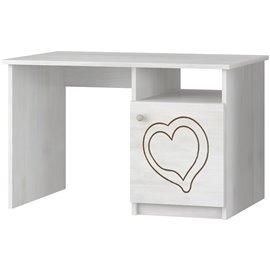 Písací stôl Baby Boo Gravir Srdiečko