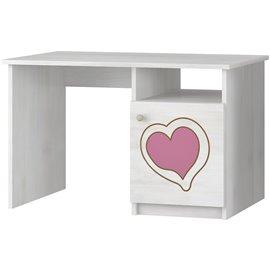 Písací stôl Baby Boo Gravir Srdiečko modrá
