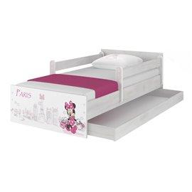Baby Boo Detská posteľ Disney Max Minnie Paris 180x90 cm