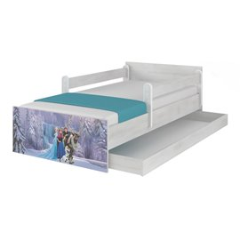Baby Boo Detská posteľ Disney Max Frozen vodopád 180x90 cm