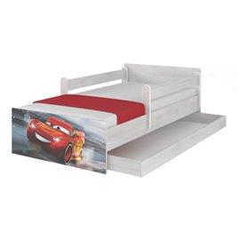 Baby Boo Detská posteľ Disney Max Cars 3 McQueen 180x90 cm
