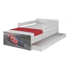 Baby Boo Detská posteľ Disney Max Cars 3 Storm 180x90 cm
