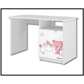 Baby Boo Písací stôl Ružový medvedík