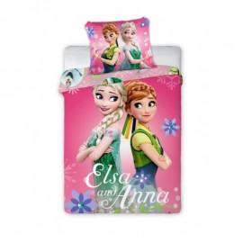 Detské obliečky Anna a Elsa 135x100 cm