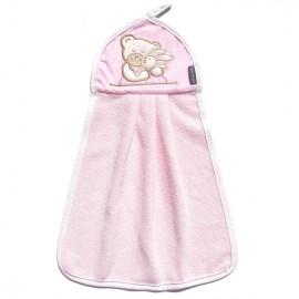 MAMO-TATO detský uterák 32x46 - Ružový