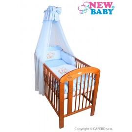 7-dielne posteľné obliečky New Baby Bunnies 100x135 modré