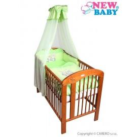 7-dielne posteľné obliečky New Baby Bunnies 100x135 zelené