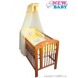 7-dielne posteľné obliečky New Baby Bunnies 90x120 žlté