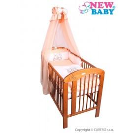 7-dielne posteľné obliečky New Baby Bunnies 90x120 oranžové