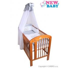 7-dielne posteľné obliečky New Baby Bunnies 90x120 sivé