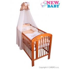 7-dielne posteľné obliečky New Baby Bunnies 90x120 hnedé