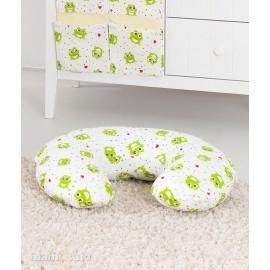 Mamo Tato Univerzálny dojčenský vankúš Žabky