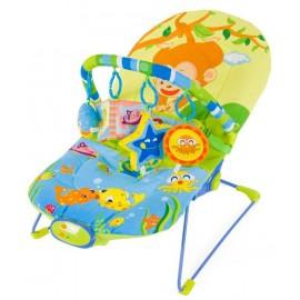 Detské ležadlo Sun Baby Opica