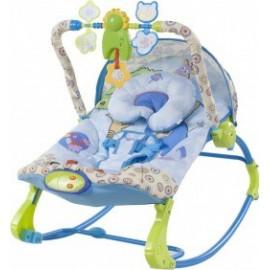Detské ležadlo-hojdačka Sun Baby Zvieratá