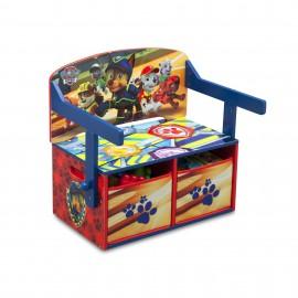 Disney Detská lavica s úložným priestorom Tlapková patrola