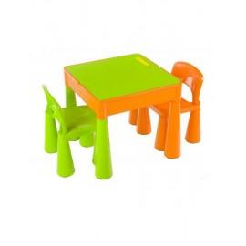 Tega Baby Mamut stolček a dve stoličky Zeleno-oranžová
