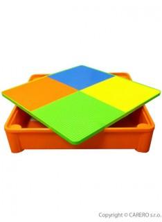 94b19c7bf2ae Tega Baby Mamut stolček a dve stoličky Zeleno-oranžová