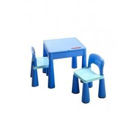 Tega Baby Mamut stolček a dve stoličky Modrá