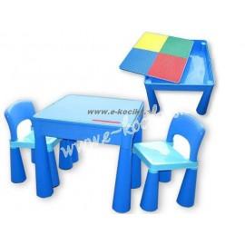 2cda3ab39019 Tega Baby Mamut stolček a dve stoličky Modrá