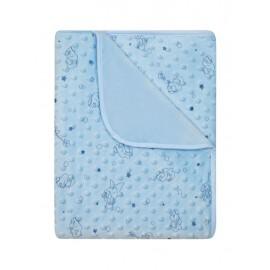 Detská deka Minky modrá