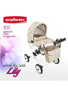 Kočík pre bábiky Adbor Lily K10