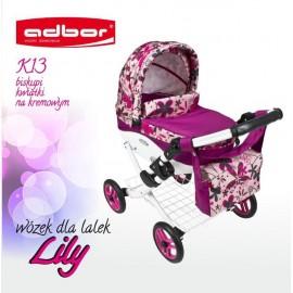 Kočík pre bábiky Adbor Lily K13
