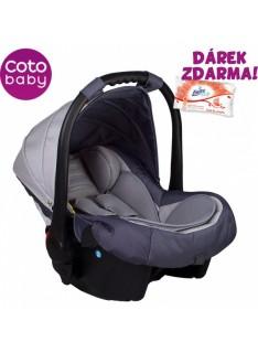Autosedačka 0 -13kg Coto Baby APRILIA - PATTERN LIGHT GREY