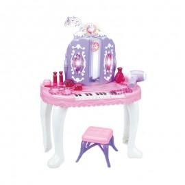 WOOPIE Toaletný stolík s klavírom, svetlom + 13 doplnkov