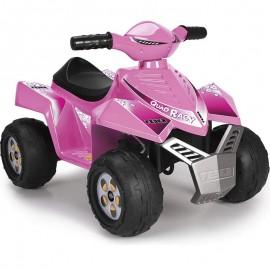 Feber ružový Quad Racy 6V