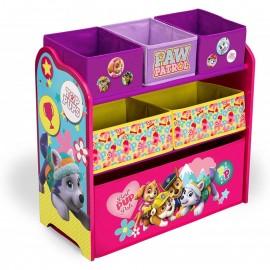 Organizér na hračky Paw Patrol Skye - ružový