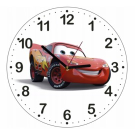 Detské hodiny Autá Cars