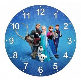 Detské hodiny Ľadové kráľovstvo