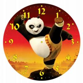 Detské hodiny Panda bojovník