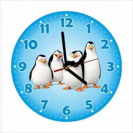 Detské hodiny Tučniaci