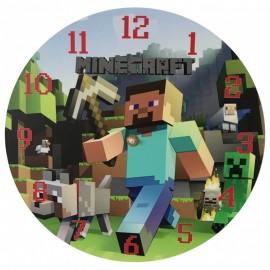 Detské hodiny Minecraft 1