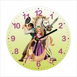 Detské hodiny Princezná na vlásku