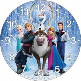 Detské hodiny Frozen