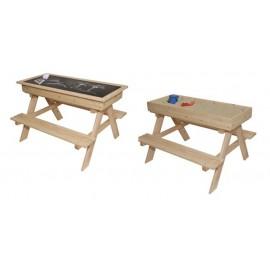 Detský drevený záhradný set