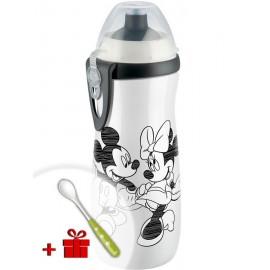 Detská fľaša NUK Sports Cup Disney Mickey 450 ml biela