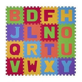 Penové puzzle Baby Ono - Písmená - 16ks