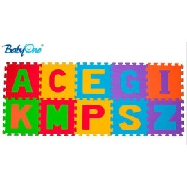 Penové puzzle Baby Ono - Písmená - 10ks
