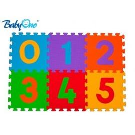 Penové puzzle Baby Ono - Čísla - 6ks